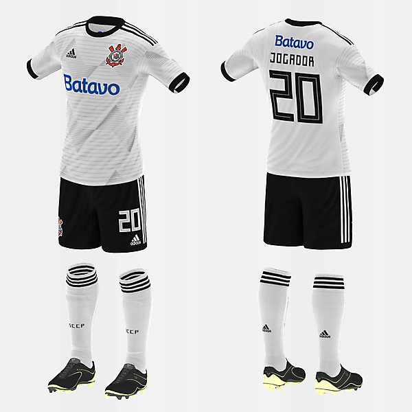 Corinthians (Home/Adidas) (#fbrkits1920)