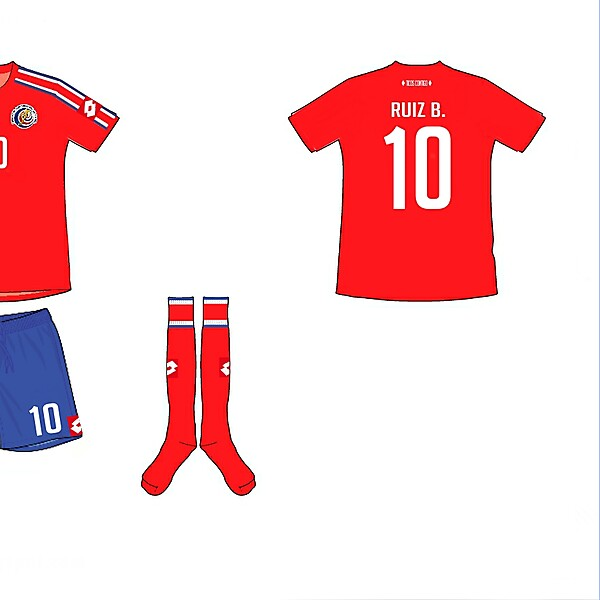 Costa Rica Home Kit
