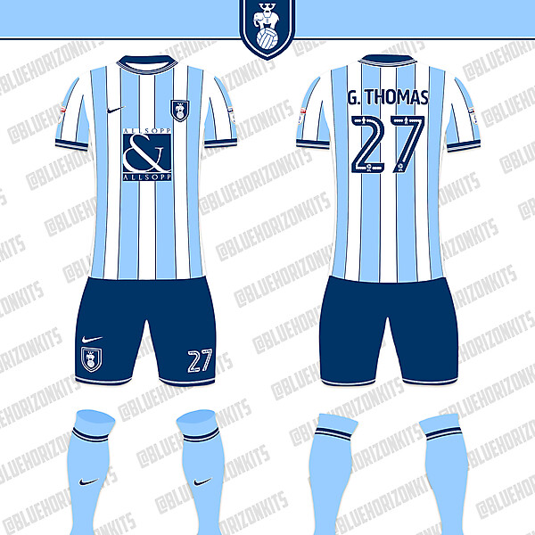 Coventry City Home Kit