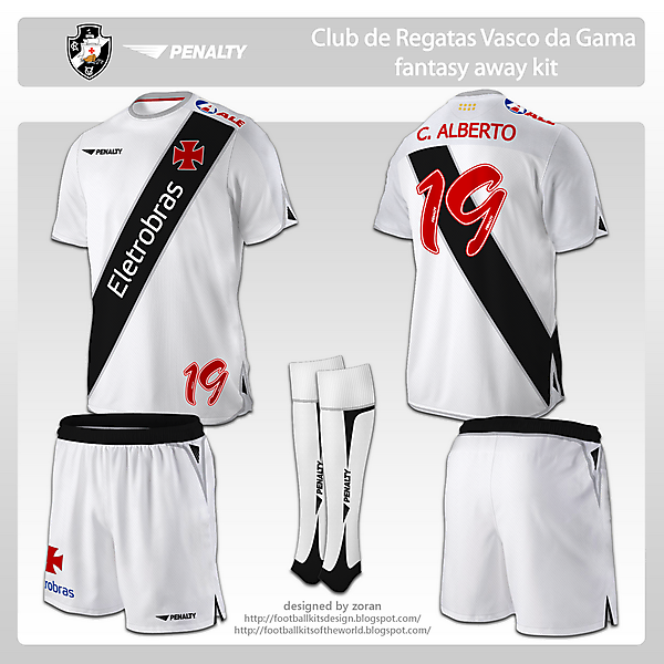 CR Vasco da Gama fantasy away