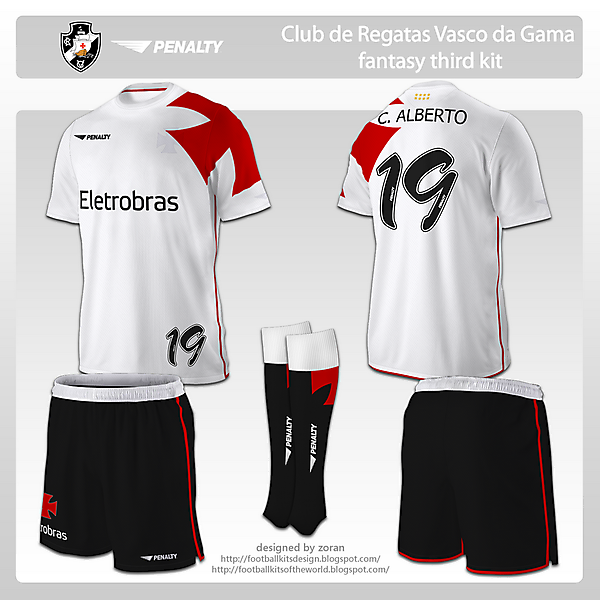 CR Vasco da Gama fantasy third