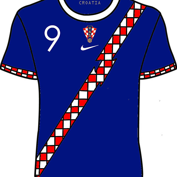 Croatia 15/16 Nike Away Kit