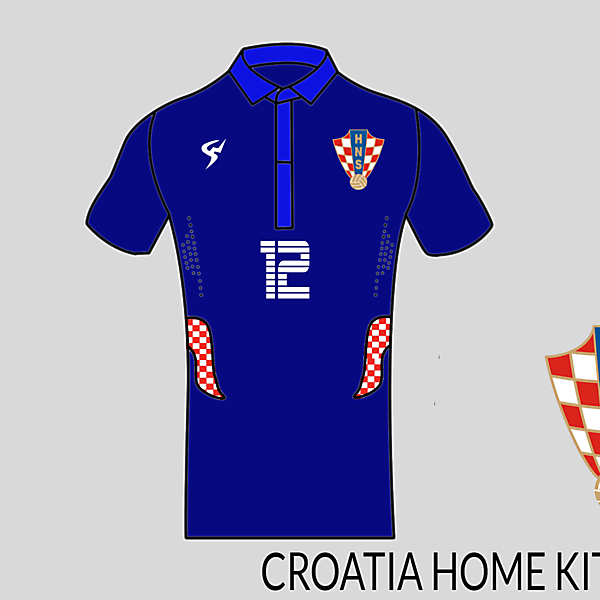 Croatia football shirt away