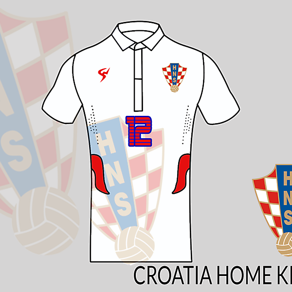 Croatia football shirt home