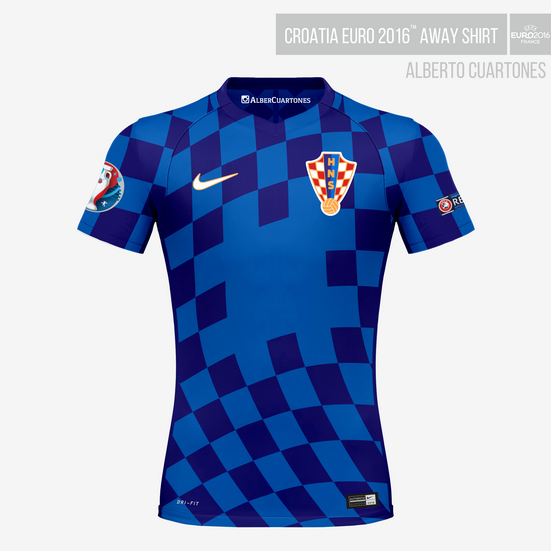 Croatia UEFA EURO 2016™ Away Shirt