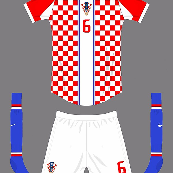 Croatia World Cup home