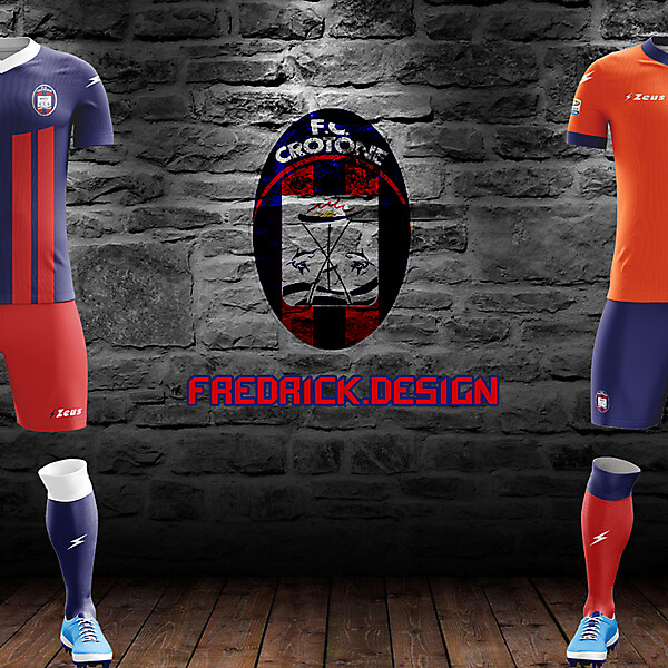 Crotone x Zeus x Home/Away