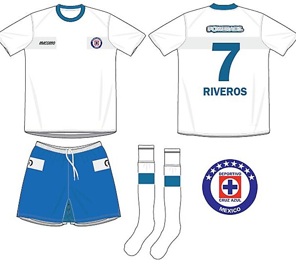 Cruz Azul Away