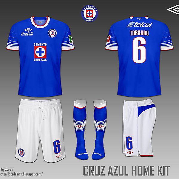 Cruz Azul fantasy home & away