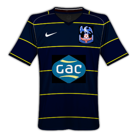 Crystal Palace Away Kit 1