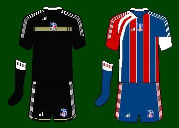 Crystal Palace Adidas Kits