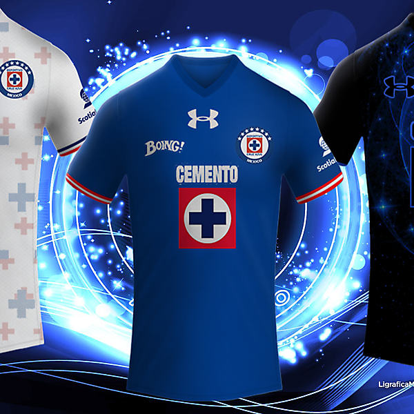 Deportivo Cruz Azul Under Armour Kits