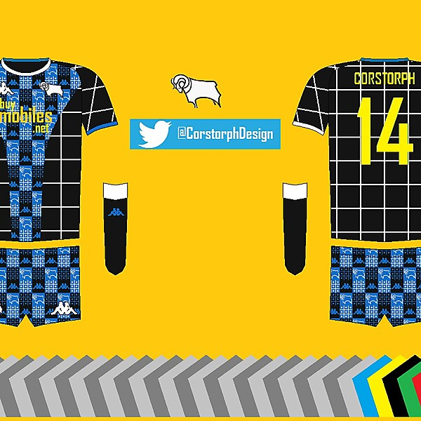 Derby County Away Kit