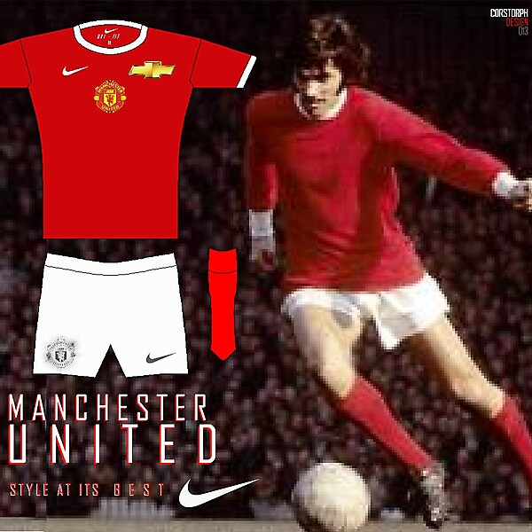 MAN UTD Nike/ Chevrolet Home Kit