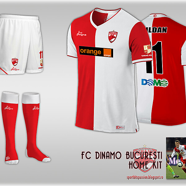 Dinamo Bucuresti fantasy kit.