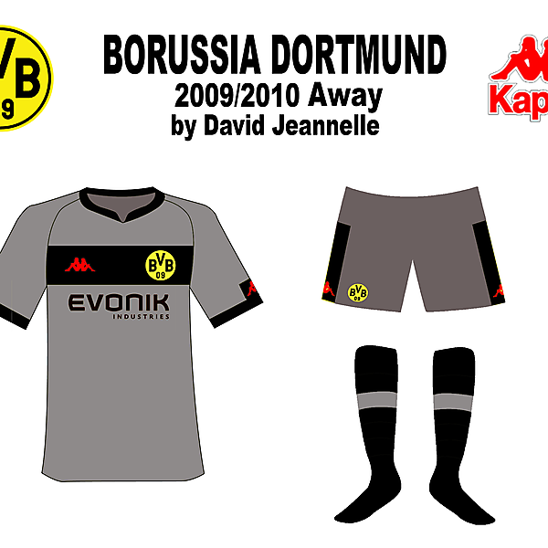 Dortmund 09/10 Mock-up designs
