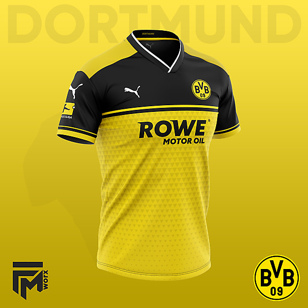 Dortmund 2020/21 Home Concept (What it should of been)