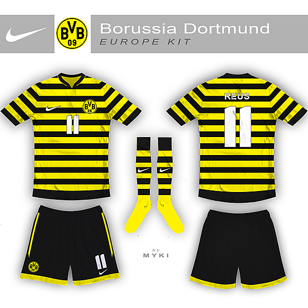 Dortmund Champions League Kit
