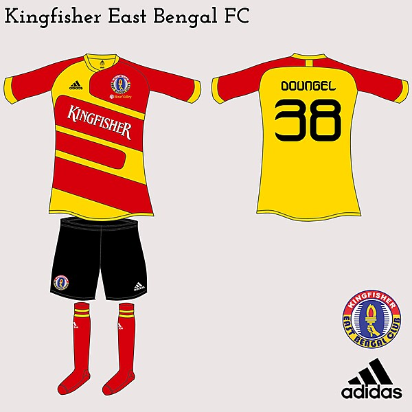 Kingfisher East Bengal FC Adidas Fantasy Home