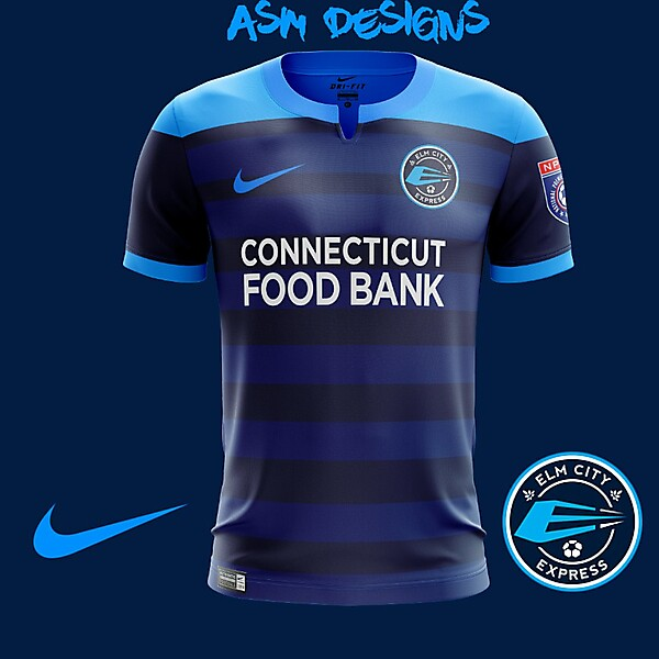 Elm City Express 2018 Nike Home Kit