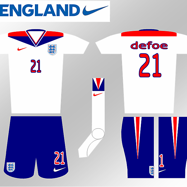 Nike Fantasy Kit - England Home