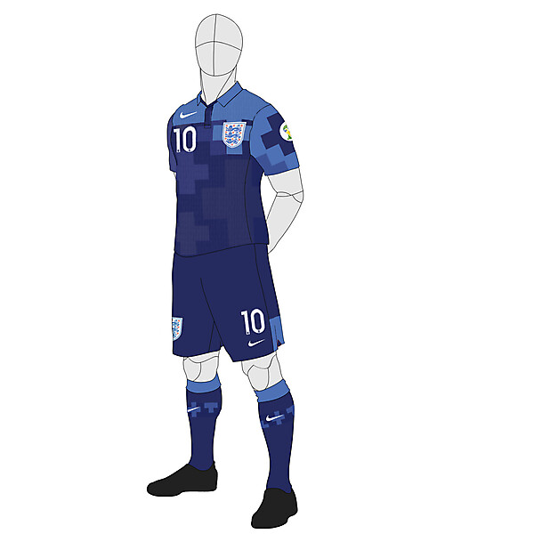 England Away 2014 WC