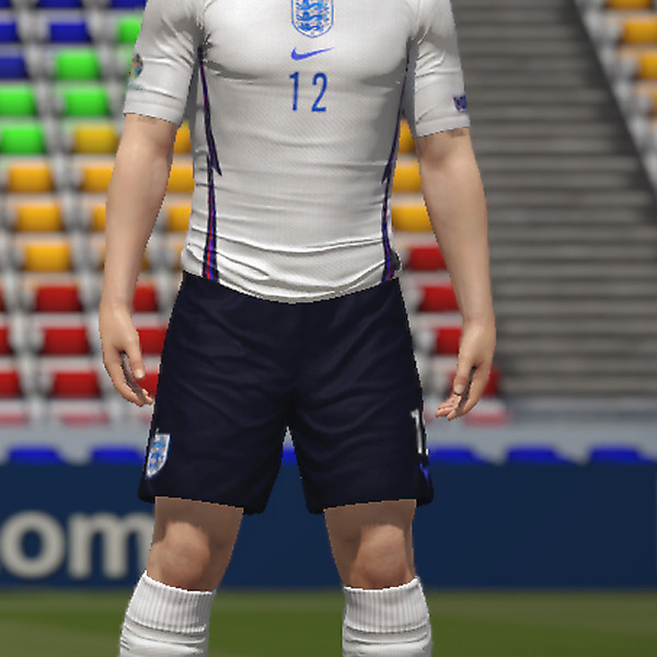 England EURO 2020 Kit Navy shorts