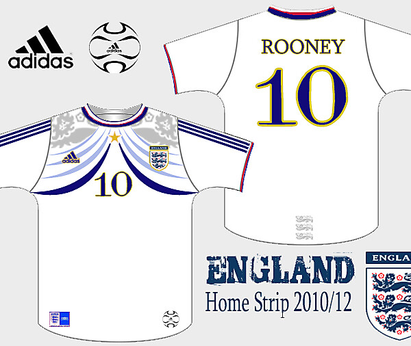 England Home Strip - adidas
