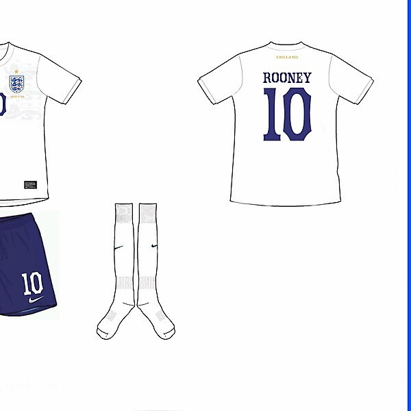 England Home Kit