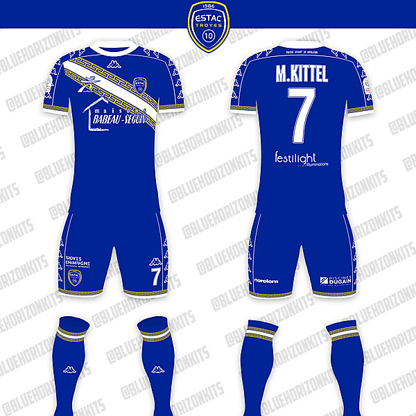 ESTAC Troyes Home Kit