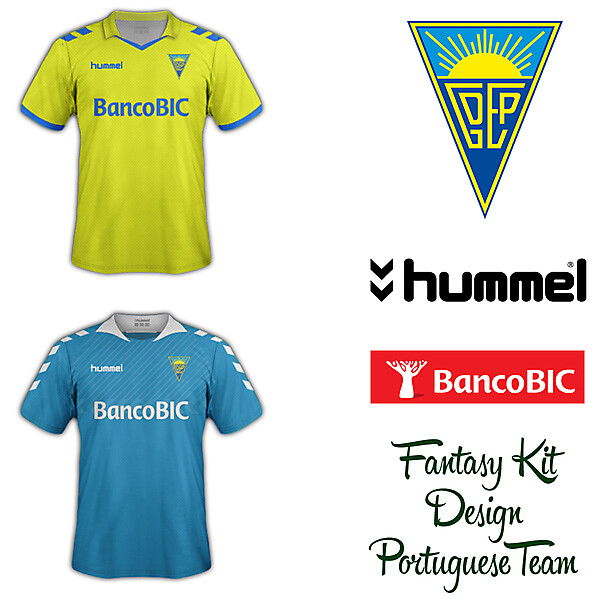 Estoril Praia Home and Away Fantasy Kit 2014/2015