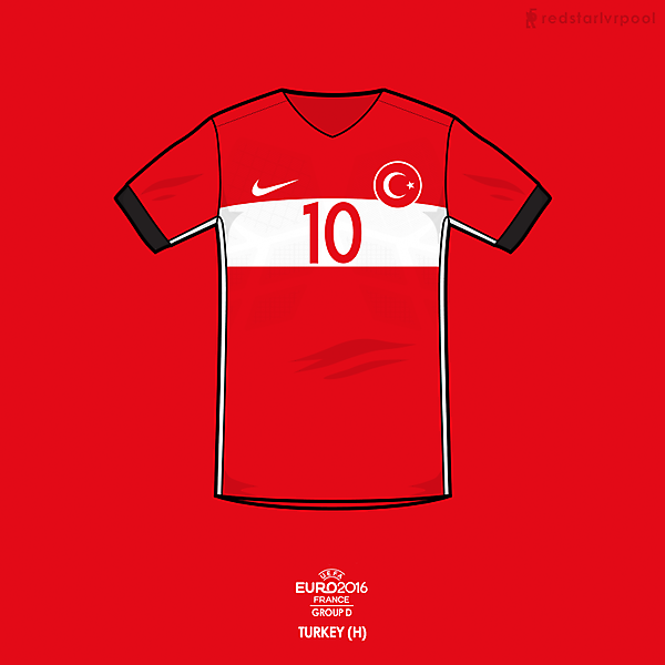 Euro 2016 - Nike Turkey Home