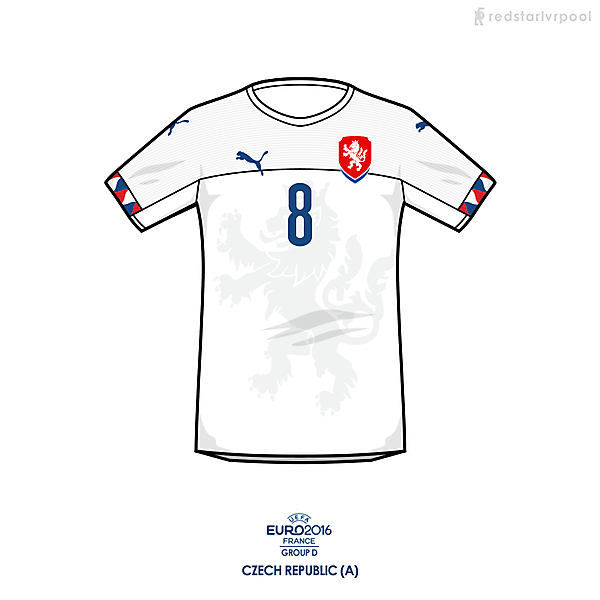 Euro 2016 - Puma Czech Republic Away