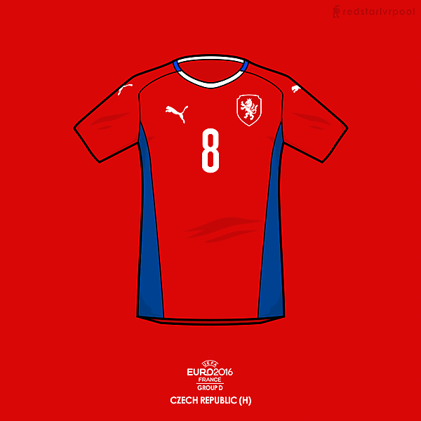 Euro 2016 - Puma Czech Republic Home