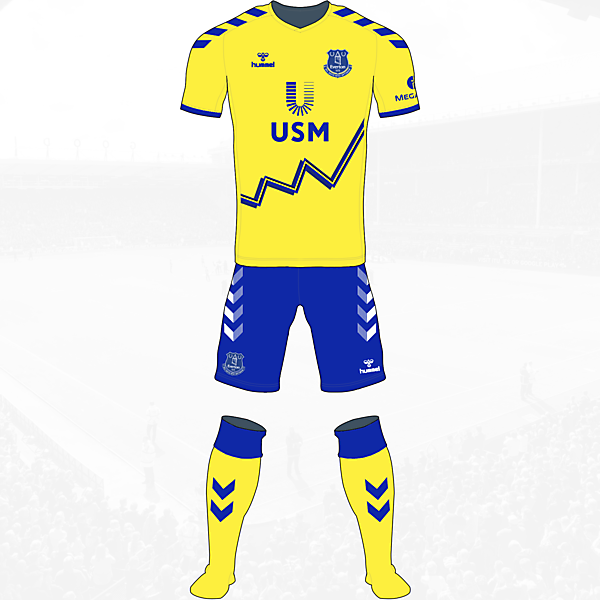 Everton Away Kit Hummel Concept