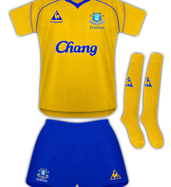 Everton Le Coq Sportif Away