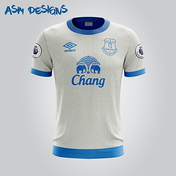 Everton F.C. Umbro 2018 Away Kit