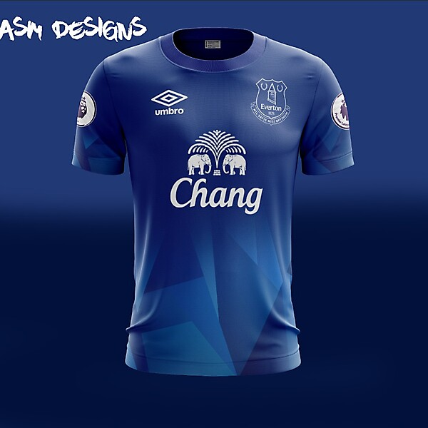 Everton F.C. Umbro 2018 Home Kit