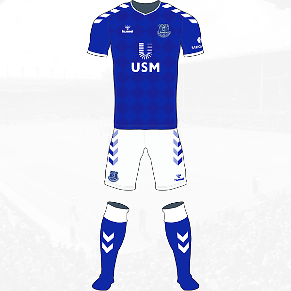 Everton Home Kit Hummel Concept
