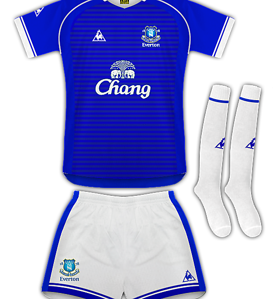 Everton Le Coq Sportif Home