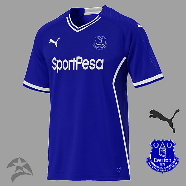 Everton Puma home concept