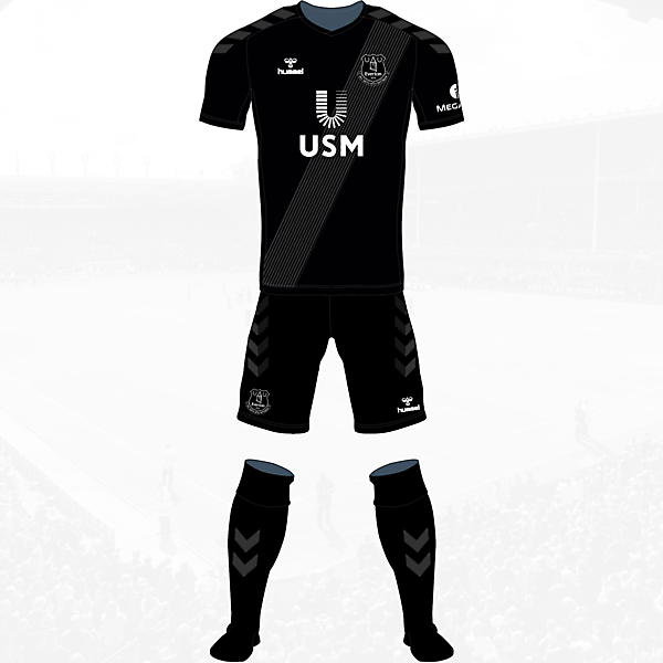 Everton Third Kit Hummel Concept