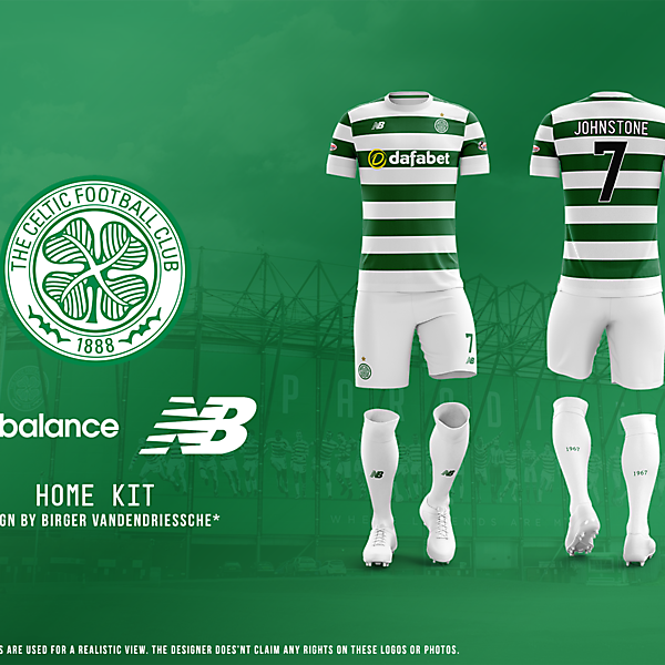Celtic FC - Fantasy Football Kit (HOME)