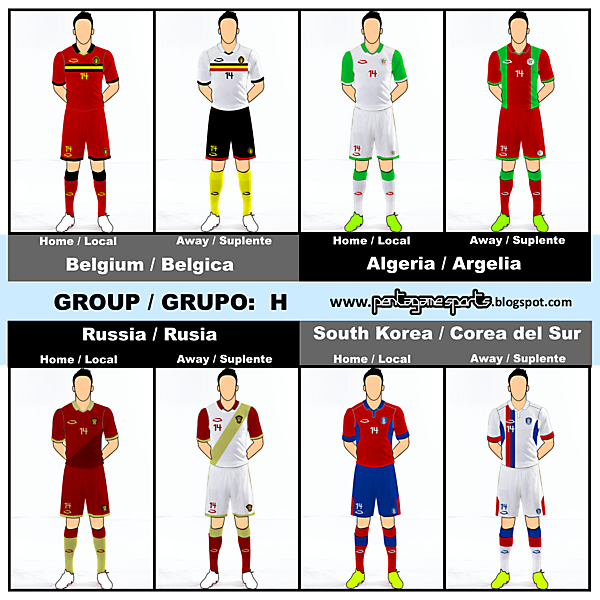 Fantasy WC KITS Group H