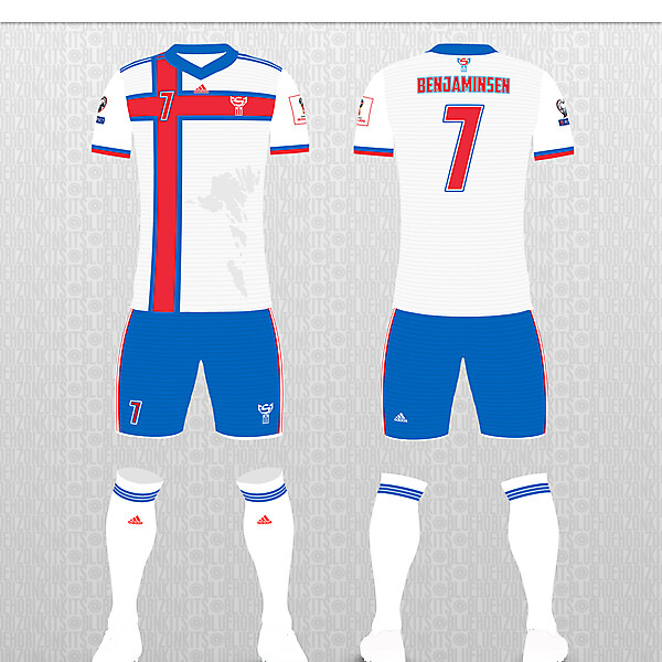 Faroe Islands Home Kit