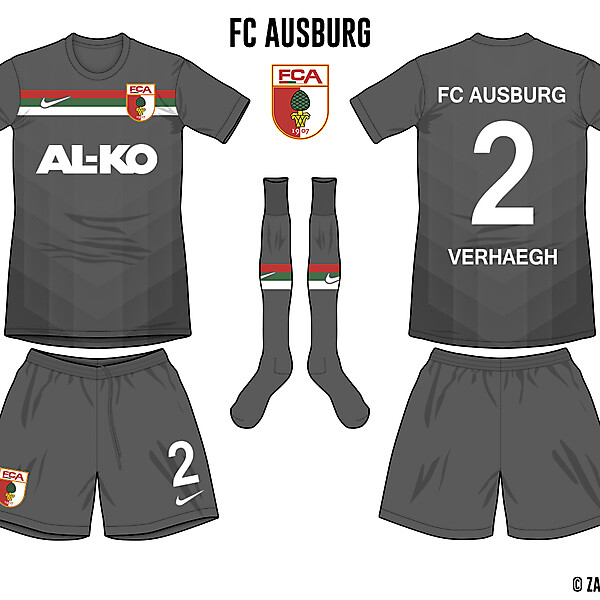 FC Ausburg Third Kit
