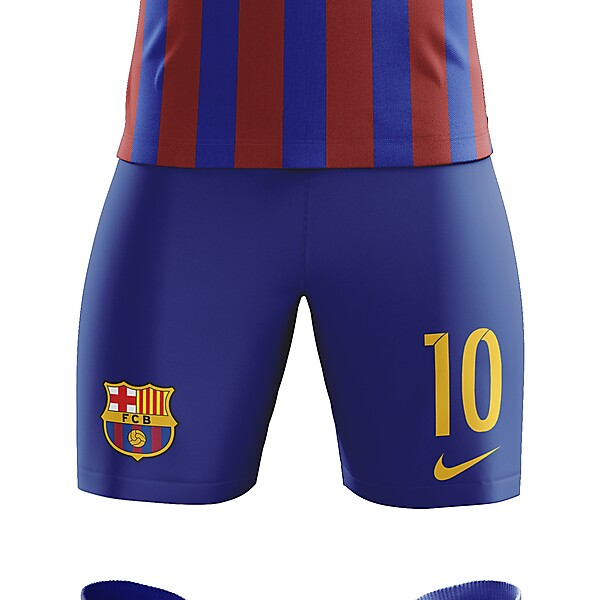 FC Barcelona 2018/19 Home Kit