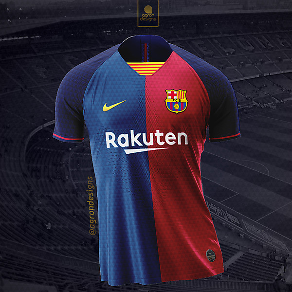 FC BARCELONA 2019-20 HOME KIT (REDESIGN) CONCEPT