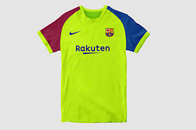 FC Barcelona Away Shirt Concept #1