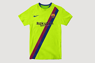 FC Barcelona Away Shirt Concept #2